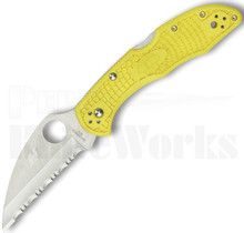 Spyderco Salt 2 Wharncliffe Knife Yellow C88SWCYL2