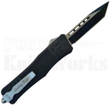 Cutting Edge Heretic Mini Black Automatic Knife Tanto Blade