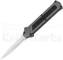 AKC F-16 D/A Gray Dagger OTF Automatic Knife