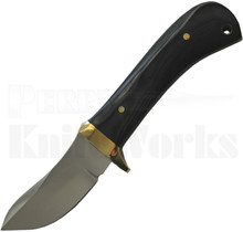 Bruce Gillespie Custom Fixed Blade Knife Black Micarta
