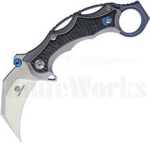 Defcon Blade Works JK Karambit Knife Gray TF5221