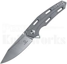 Defcon Blade Works JK Knives Cutter Knife Aged Brass