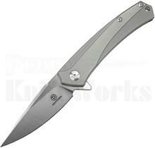 Defcon Blade Works JK Knives Barracuda Knife Gray