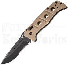 Benchmade Adamas Automatic Knife Tan 2750SBKSN