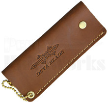 Deva Blade Skanda Friction Folder Leather Knife Pouch