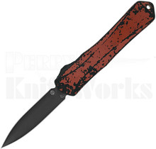 Heretic Knives Manticore-X Double Edge OTF Breakthrough Red