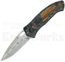 Buck Impact Limited Edition Automatic Knife Damasteel 0898CFSLE