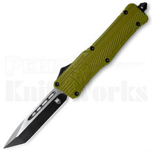 CobraTec Large CTK-1 OTF Automatic Knife OD-Green Tanto
