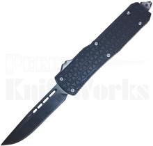 Cutting Edge Triad Mini Black D/A OTF Automatic Knife