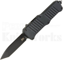 HK Mini Incursion OTF Automatic Knife Black l Black Tanto Blade l 54046