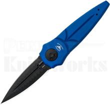 """Paragon Warlock Knife Mystic Blue 4.0"""" Black Sorcerer Blade"""