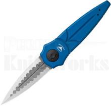 """Paragon Warlock Knife Mystic Blue 4.0"""" Satin Sorcerer Blade"""