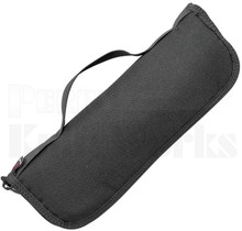 "Real Steel Urban Discreet XL 11"" Nylon Zipper Storage Knife Pouch"