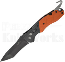 Bear OPS Bold Action V Automatic Knife Orange/Black AC-500-B4-OR