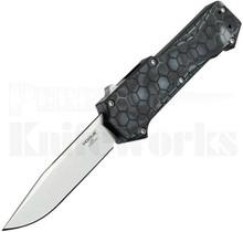 Hogue Compound OTF Automatic Knife Clip Point Black G-Mascus 34039