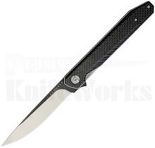 Komoran Knives Linerlock Flipper Knife Carbon Fiber KO023