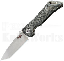 Southern Grind Spider Monkey Tanto Linerlock Knife C/F l For Sale
