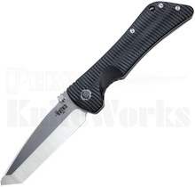 Southern Grind Bad Monkey Knife Black G10 Satin Tanto Blade