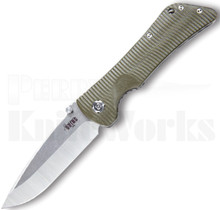 Southern Grind Bad Monkey Knife Green G-10 l Satin DP Blade