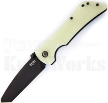 Southern Grind Bad Monkey Knife Jade Green G-10 l Black Tanto