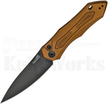 Kershaw Launch 6 Brown Aluminum Automatic Knife