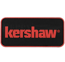 "Kershaw 3"" x 1.5"" Red & Black PVC Patch"