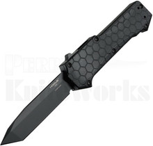 Hogue Compound OTF Automatic Knife Tanto l Black G-10 l 34026
