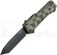 Hogue Compound OTF Automatic Knife Tanto l Green G-Mascus l 34028