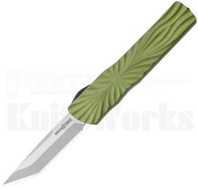 Brian Tighe & Friends Small Twist Tighe Auto Knife Green