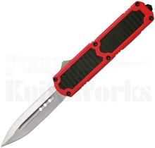 Titan Red D/A OTF Automatic Knife Carbon Fiber