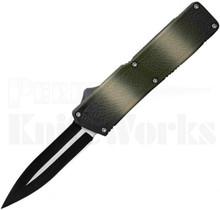 Lightning Camo D/A OTF Automatic Knife l Two-Tone Dagger