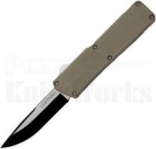 "Lightning Tan D/A OTF Automatic Knife 3.25"" Two-Tone"
