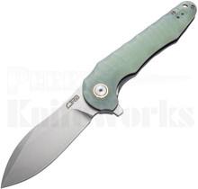 CJRB Cutlery Mangrove Liner Lock Knife Jade G-10