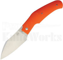 Amare Tashi Bharucha Creator Slip Joint Knife Orange G-10