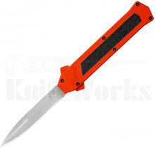AKC F-16 D/A Satin Bayonet OTF Automatic Knife Orange