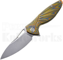Rike Hummingbird Plus Knife Brown/Green G10