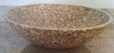 Bainbrook Brown Granite Vessel Bowl
