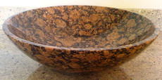 Baltic Brown Granite Vessel Bowl