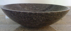 Blue Pearl Granite Vessel Bowl