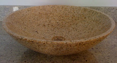 Desert Gold Granite Vessel Bowl