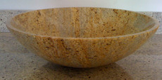 Kashmir Gold Granite Vessel Bowl