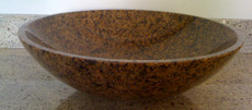 Tropic Brown Granite Vessel Bowl
