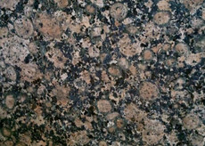 "Baltic Brown Kitchen Countertop 108""x25.5"""
