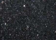 "Black Galaxy Bar Top 98""x16"""