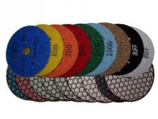 "Diamondhead USA: 4"" Premium Dry Polishing Pad (50 Grit)"