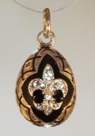 BlackGold pendant
