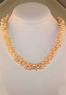 """Cultured Fresh-water Pink Pearl Strand 16"""""""
