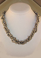 Cultured Fresh-water Silver Pearl Strand