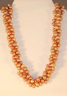Cultured Fresh-water Cappuccino Pearl Strand