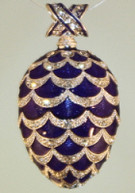 Imperial Scalloped Pendant